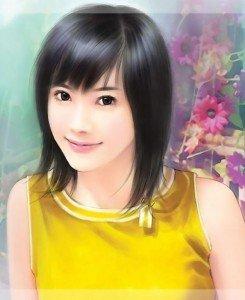 La vie d'une chinoise, le roman de Sylvie Lin Jing dans Les larmes de Sylvie lín jìng 1chinese_girl_painting6-245x300