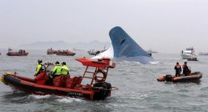 South-Korean-emergency-services-are-continuing-to-search-overnight-for-almost-300-people-missing-after-Sewol-ferry-carrying-462-people-sank-off-Jindo-Island